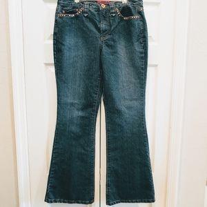 Jones wear embellished jeans boot cut 12
